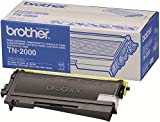 Brother TN-2000 Toner Cartridge, Black, Single Pack, Standard Yield, Includes 1 x Toner Cartridge, Brother Genuine Supplies