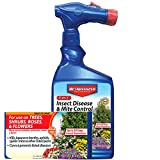 Bayer 100531789 3-in-1 Insect Disease & Mite Control Spray, 32-Ounce, White