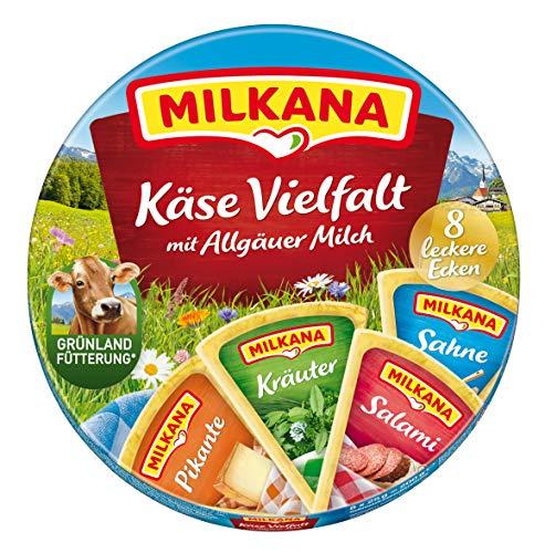 Milkana Vielfalt-Streichkäse Kleine Ecken, 8 Stück, 200g