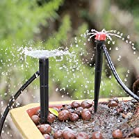 温室用ガーデンドリッパー20個の調整可能な耐久性のあるガーデンスプリンクラー散水ツール