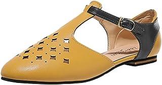 [洋子ちゃん_] レディース シューズ 透かし彫り中空 サンダル 女性の靴 綺麗 女性 おしゃれ 春夏 靴 履きやすい レディース 美脚