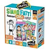 Headu-Siamo Fatti così Montessori Gioco, Multicolore, IT21451