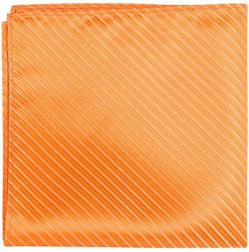 Matching Tie Guy 2911 O4 PS - 12 x 12 in. Matching Pocket Square - Orange