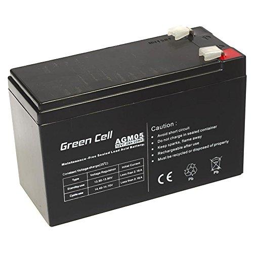 Onderhoudsvrije AGM VRLA Green Cell 12V 7.2Ah accu voor alarmsystemen en speelgoed