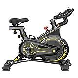 Lcyy-Bike Bicicleta Ejercicio para Interiores, Bicicleta Spinning, con Pantalla Electrónica, Equipamiento Sport para El Hogar, with Manillar Y Asiento Cómodo con Monitor LCD para Gimnasio En Casa