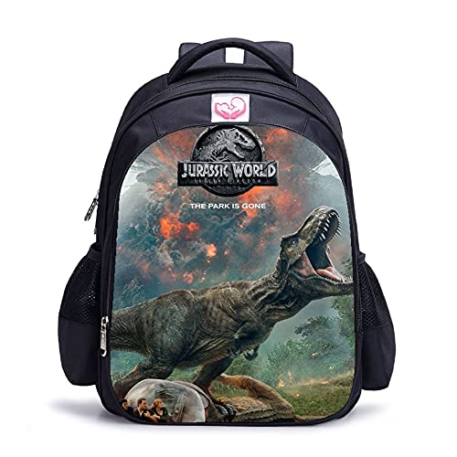 Jurassic Park Rugzakken School Tassen Student Lunch Bag Schoudertas 3D Gedrukt Jurassic World Bags