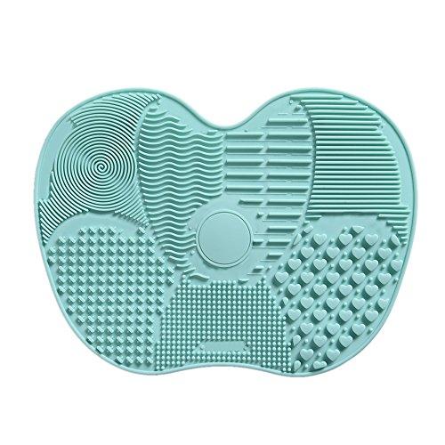 Silikon Make-up-Pinsel Reinigung Matte Saugnäpfen Pinsel Reinigungsmatte Brush Cleaner Kosmetik...