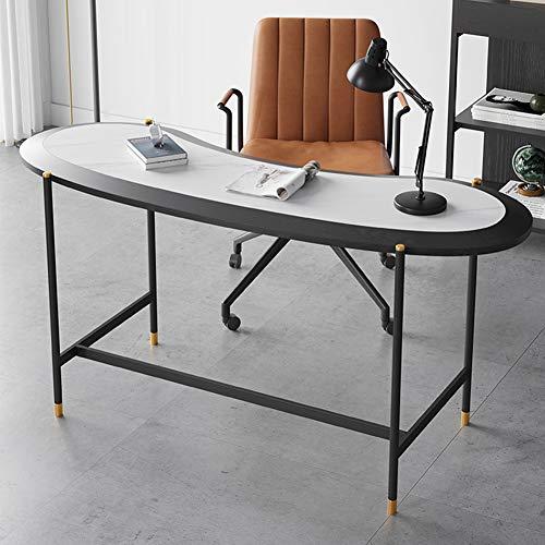 DNNAL Computertisch, Schiefer Schreibtisch Schlafzimmer Nachttisch Tisch Einfache und Moderne Home Minimalist Tisch