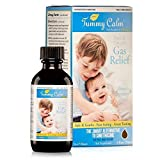 Tummy Calm Gas Relief Drops - 2 Fl. Oz. - Homeopathic Gas Drops for Children - Safe, Gentle, Effective - Helps Soothe Delicate Digestive Systems, Bloating, Upset Stomach, Hiccups