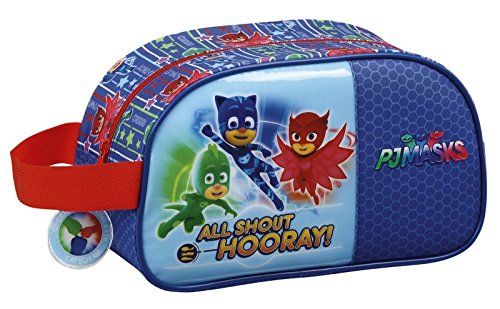 Safta toilettas Pjmasks, officieel, medium, met handvat, 260 x 120 x 150 mm