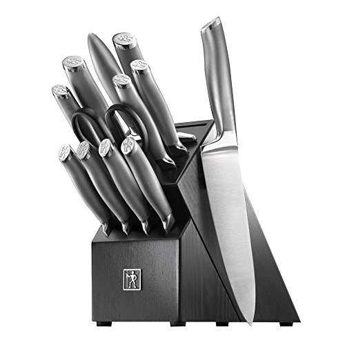 HENCKELS J.A International Modernist 13-pc Knife Block Set, Black
