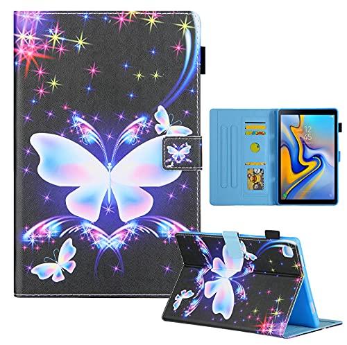 Galaxy Tab A 8.4 (2020 lanzamiento) Funda para Samsung Tab A 8.4 pulgadas SM-T307 resistente a golpes, soporte de Tablet Shell (mariposa)