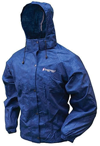 Frogg Toggs All Purpose Rain Jacket Womens Royal Blue Size LargeX Large