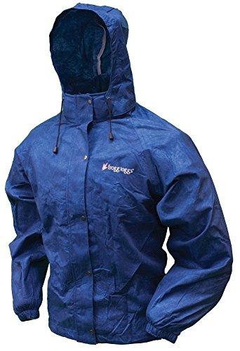 Frogg Toggs All Purpose Rain Jacket, Women's, Royal Blue, Size Large/X-Large