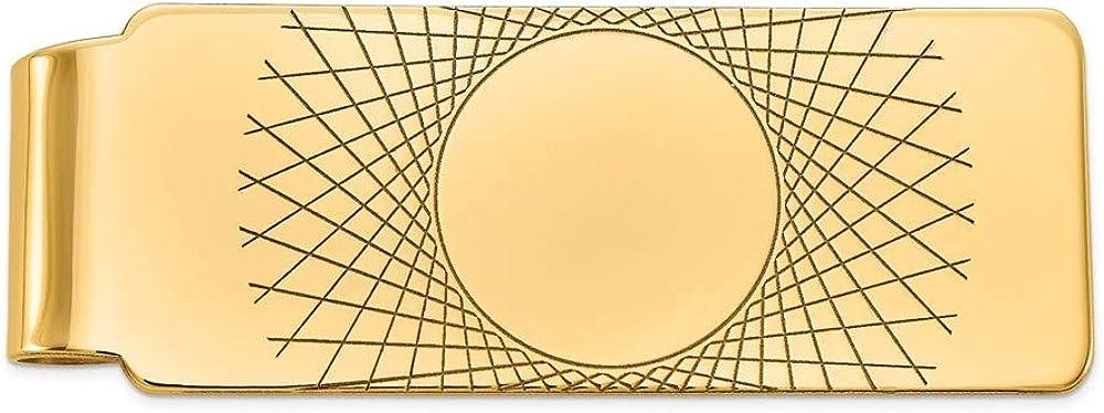 14k Yellow Gold Money Clip Men's Max 49% 2021 model OFF