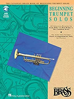 Canadian Brass Book of Beginning Trumpet Solos: With Online Audio of Performances and Accompaniments