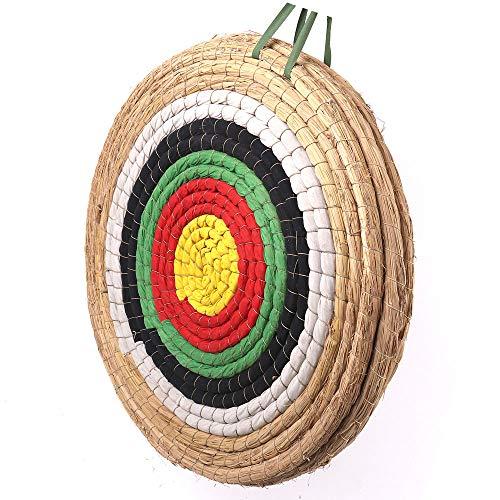 Outdoor-shooter Zielscheibe Bogenschießen Traditionelles Strohzielscheibe Durchmesser 50 cm für im Freiensport-Bogenschießen-Bogen