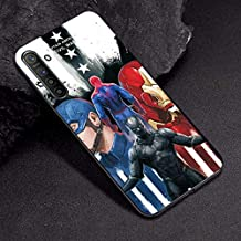 VERONIQUE-Fitted Cases - For OPPO A3S Case A7 AX7 Captain Marvel Comics Soft TPU Case For OPPO R17 RX17 Neo K1 A9 A5 2020 A5 A11X Case Cover Realme XT X2 (TPUBLK632 For OPPO RX17 Neo)