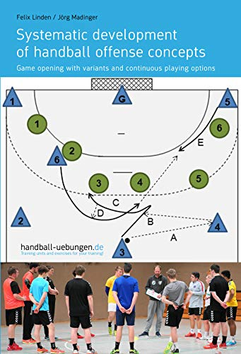 Systematic development of handball offense concepts: Game opening with variants and continuous playing options (English Edition)