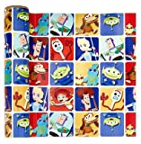 Toy Story 4 THEME GIFT WRAPPING PAPER 20 sq ft.(1 Roll)