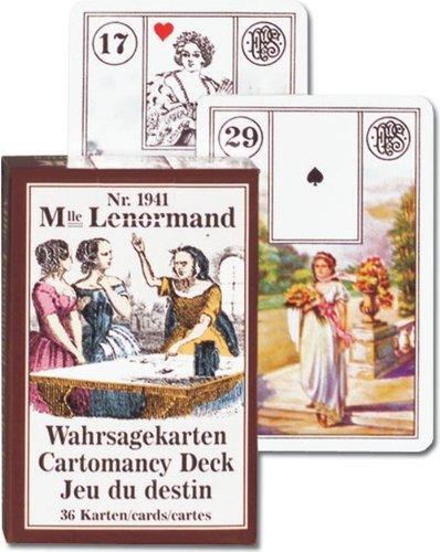 Piatnik–194115mlle. Lenormand Tarot & wahrsage Karten