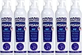 Paya Hand Sanitizer Antiseptic Foam - Lightweight Foaming Formula (7 Ounce), 6 Pack