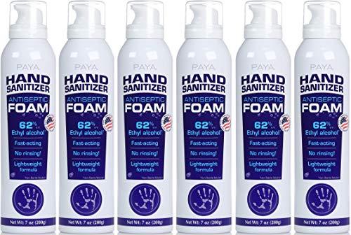 Paya Hand Sanitizer Antiseptic Foam - Lightweight Foaming...