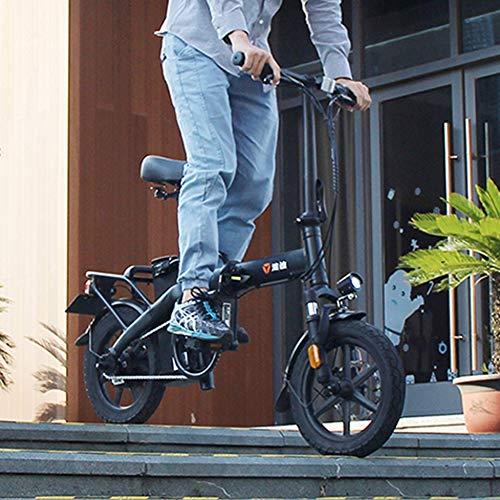 Pc-Hxl Bicicleta eléctrica Plegable Aleación de Aluminio Bicicleta Inteligente 250 w de...