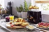 Philips HD2581/90 Toaster, integrierter Brötchenaufsatz, 8 Bräunungsstufen, schwarz - 5