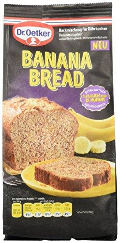 Dr. Oetker Banana Bread, 5er Pack (5 x 400 g)