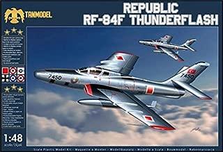 TAN02201 1:48 TanModel Republic RF-84F Thunderflash [MODEL BUILDING KIT]