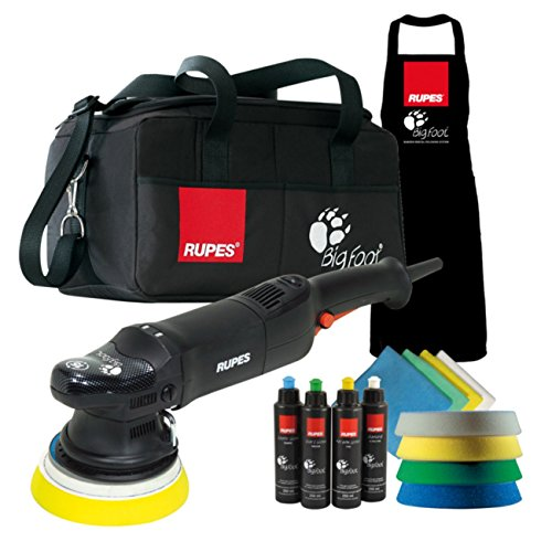 Poliermaschine Rupes LHR 15 Mark II Big Foot Exzenter Polisher im Deluxe Set, LHR 15II DLX