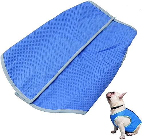 Petilleur Dog Cooling Vest Pet Cooling Coat Dog Mesh Vest for Small and Medium Dogs (M)