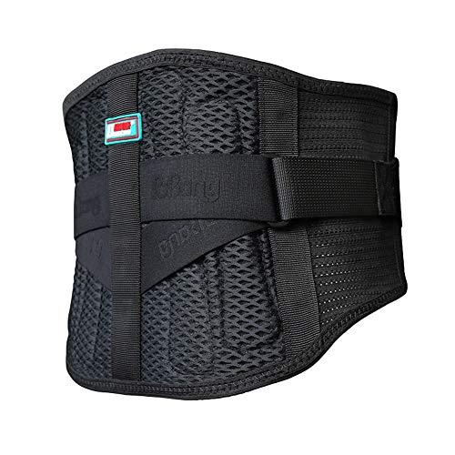 ZFF Soporte Lumbar Cinturón,Inferior Espalda Apoyo Cinturón por Hombres & Mujer Dolor...