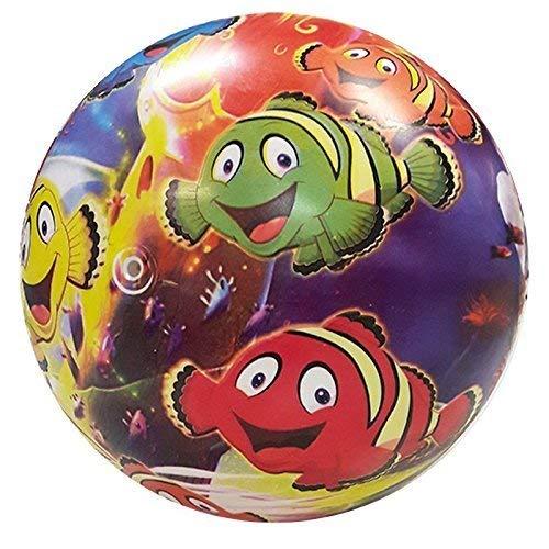 Lively Moments Spielball / Fußball / Ball / Wasserball / Strandball 6 Bunte Clownfische