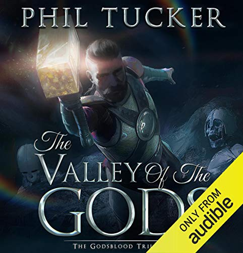 The Valley of the Gods audiobook cover art