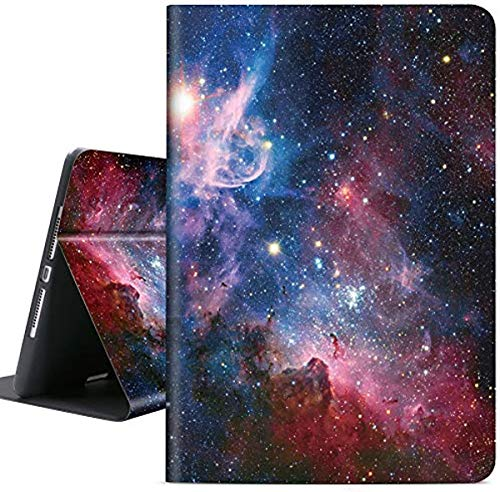 Soft TPU Case for iPad 10.2 2020 8th Gen / iPad 10.2 2019 7th Gen / Air 3 10.5 2019 / iPad Pro 10.5 2017, Auto Sleep/Wake with Apple Pencil Holder [Anti Dirt] [Anti Scratch] Cover (Starry Daydream)