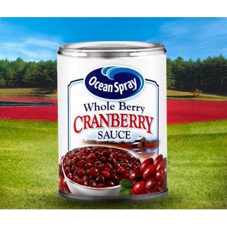 Ocean Spray Whole Cranberry Sauce - 14 oz (CASE 24)