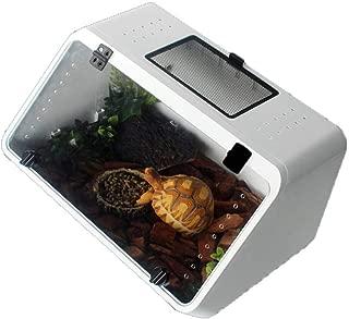 Reptiles House terrazza rampa per tartaruga serbatoio bianco cuckoo-X design Basking piattaforma galleggiante per rettili Tartarughe