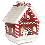 Gingerbread House Diffusers for Essential Oils, Ceramic Ultrasonic Cool Mist Essential Oil Diffuser, 100ml USB Powered Aromatherapy Diffuser, Ideal Gift Ideas for Kids