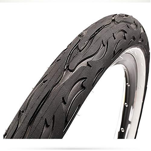YUEDAI Neumáticos para Bicicletas Mountain Street Car LIRES DE Coches Bald Rider MTB Ciclismo Bicicleta Neumático Neumático 26x2.125 65tpi Pneu Bicicleta (Color : 26x2.125 Black)