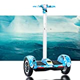 LSUOZ Auto-équilibrant Scooter électrique, Scooter Elettrico Bluetooth Hoverboard da 10 Pollici...
