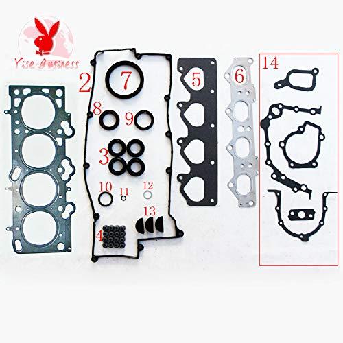 yise-P547 New G4GB G4GC Engine Full gasket set kit for Hyundai Elantra 1795cc1.8L 1975cc 2.0L 2000-2006 50213900 20910-23C00 20910-23C20