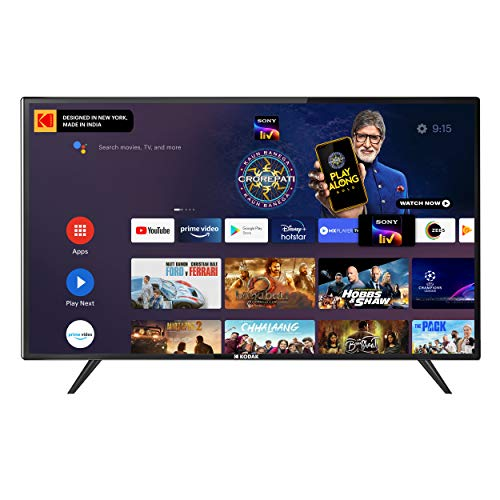 Kodak 108 cm (43 Inches) 4K Ultra HD Certified Android LED TV