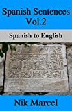 Spanish Sentences Vol.2: Spanish to English