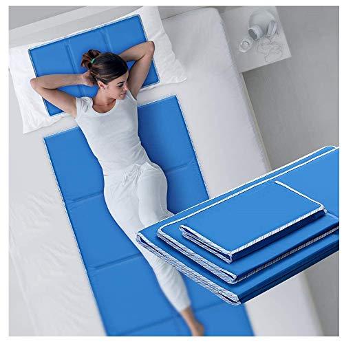 Housefar Almohada de Gel refrescante | Funda de Almohada | Almohadilla térmica de Gel Frio de enfriamiento | Funda de Almohada termorreguladora 30 x 50 cm