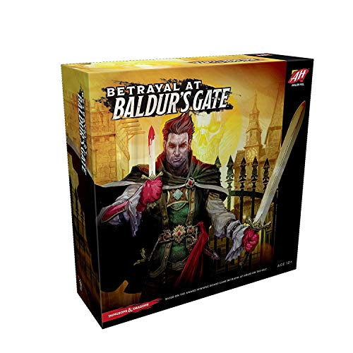 Betrayal At Baldur's Gate - Dungeons & Dragons - Board Game - Wizards