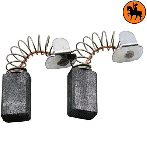 Kohlebürsten für AEG HBS100 Schleifer -- 6,4x9,52x16mm -- 2.4x3.5x6.3''