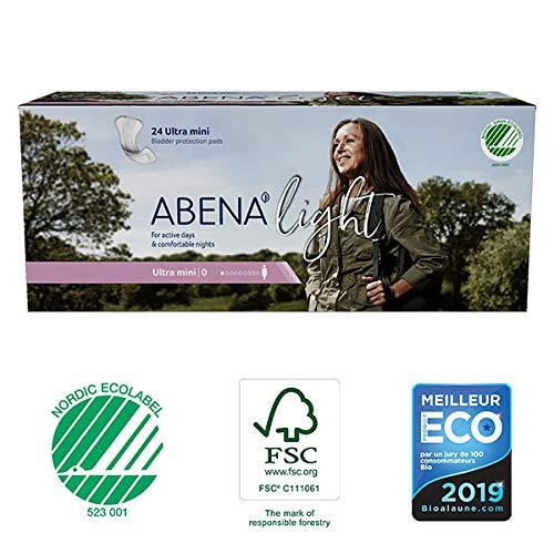 Abena - Protections Anatomiques Light Ultra Mini 24 Protections - Lot De 4 - Livraison Rapide En France - Prix Par Lot