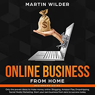 Online Business from Home Beginners Guide cover art